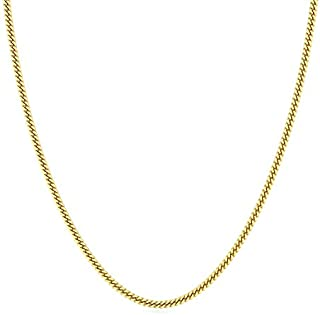Candere By Kalyan Jewellers Contemporary Collection 22k Yellow Gold Lucian Chain Necklace