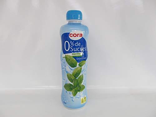 Cora Sirup Pfefferminz Sirop de Menthe ohne Zucker 0,75 Liter PET Flasche