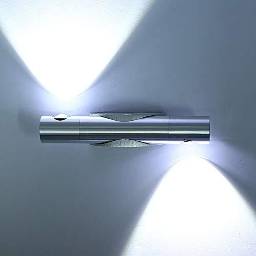 Lightess Apliques de Pared Bañadores Lámpara 6W 2 Granos LED para Iluminación...