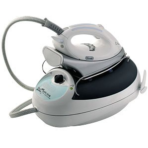 DeLonghi Compact 3D professional steam generator ironing system VVX800, Gris - Plancha