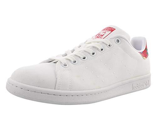 Zapatillas Adidas Stan Smith para mujer, color blanco/rojo