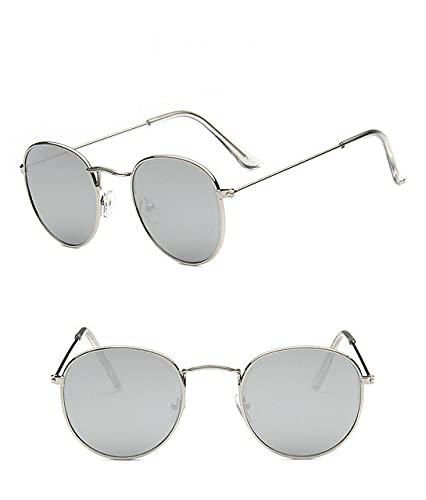 Retro Metal Ladies Sunglasses Luxury Classic Small Frame Driving Mirror Glasses-Glasses