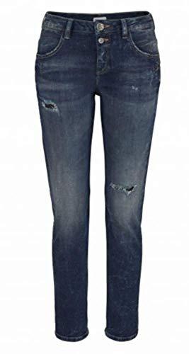 Glücksstern Jeans Damen Boyfriend Dirty Wash (28)