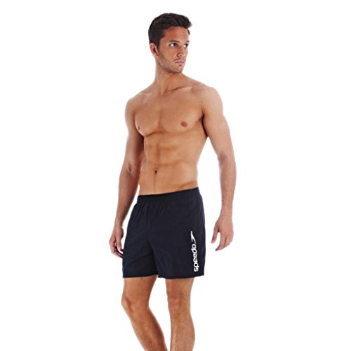 Speedo Scope, Short Homme, Marine, FR : XL (Taille Fabricant : XL)