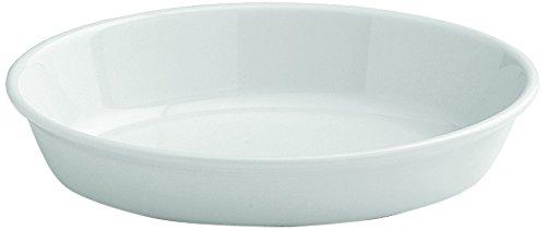 Tognana 25 x 16 x 6 cm-PL-Cook Plat de cuisson ovale, blanc