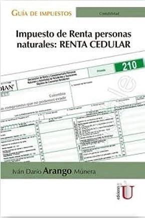 Impuesto de renta personas naturales: Renta cedular