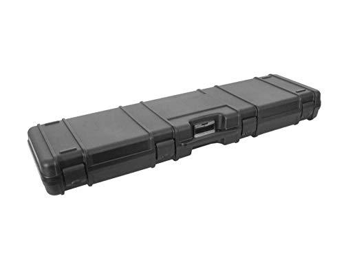 BEGADI Airsoft Gewehrkoffer/Hardcase \'Zulu\' aus Kunststoff, flach, verstärkt und robust (119x33cm)