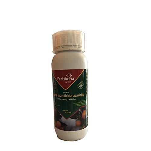 Aceite Insecticida Acaricida contra Ácaros y Cochinillas FERTIBERIA, 500 ml