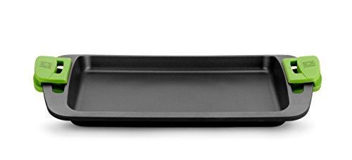 Bra Plancha Asar, Aluminio, Negro, 40 cm