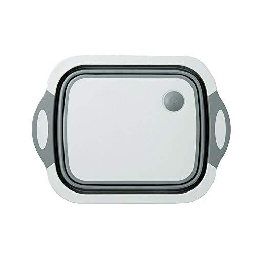 Schneidebrett Klappbar.Drawoz 4 In 1 Multi Board Dayvion No More Tools Drain Basket Foldable For Kitchen Fruit Vegetables