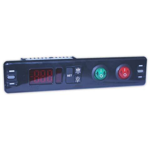 Termostato digital AKO D10123-50°/+99° | AKO 1 Rele + luz + Sonda NTC c/interruptor AKO Termostatos
