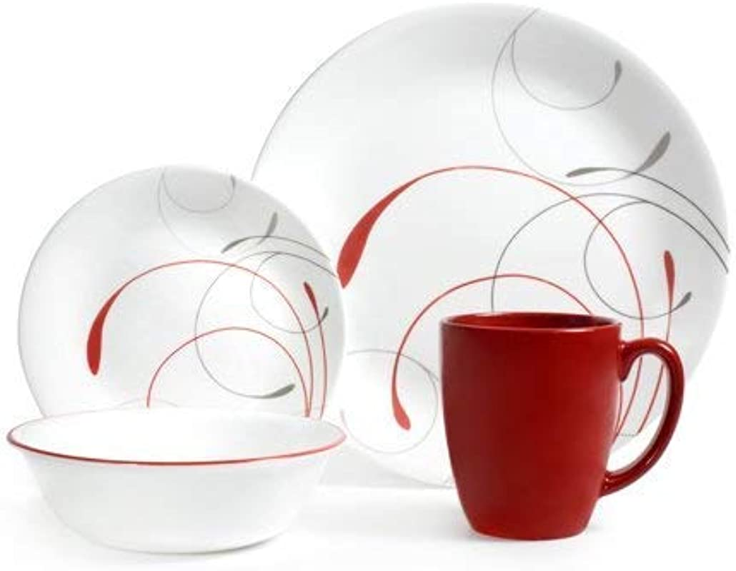 Corelle Livingware Splendor 16 Piece Dinnerware Set