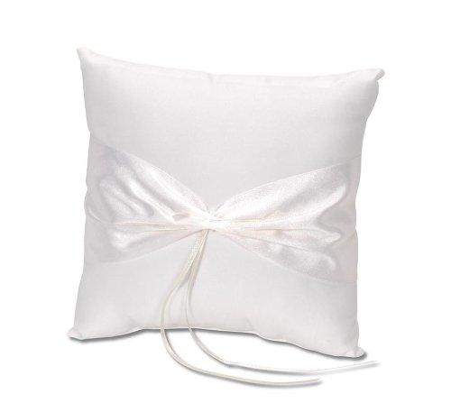 Darice VL37, Ring Pillow Design Your Own, Cream