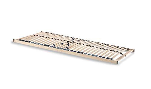 Spenger-Moebel Lattenrost 80x190, 80x200, 90x190,100x190, 100x200, 140x190, 90x200, 140x200 cm, Lattenrost C-Flex mit 26/28 Leisten unverstellbar (100 x 190 cm)