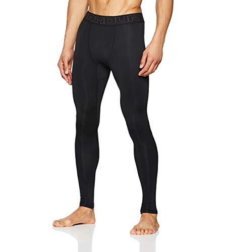Under Armour ColdGear, Pantaloni a Compressione Uomo, Nero, MD