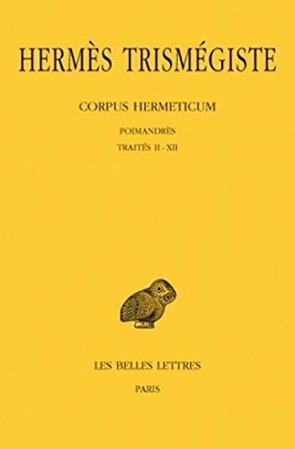 Corpus hermeticum, tome 1