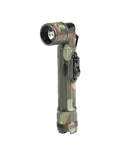 Mil-Tec Medium LED Anglehead Flashlight (Flecktarn)