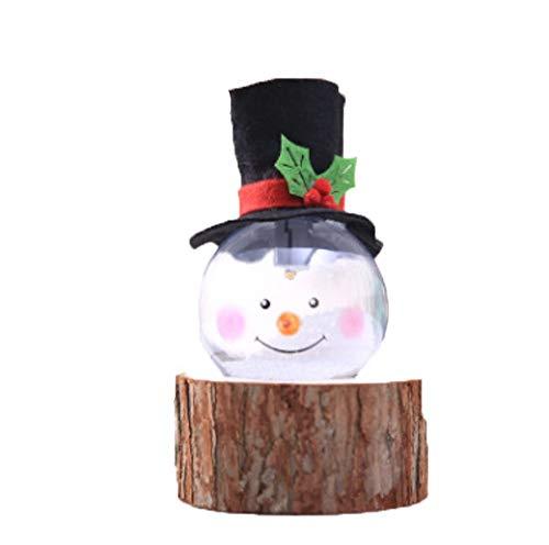 Forniture per le vacanze Ornamento De Navidad Colgante con Luces LED Luces...