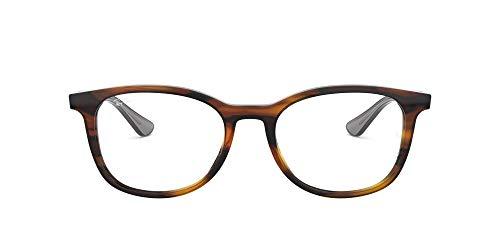 Ray-Ban 0RX5356, Monturas de Gafas Unisex Adulto, Marrón (Shiny Havana/Grey), 54