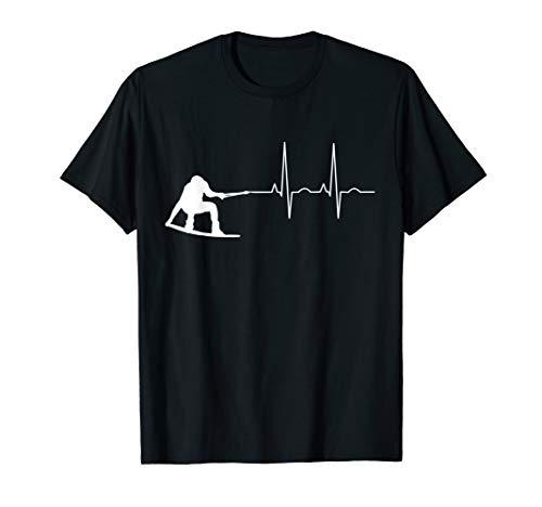 Wakeboard EKG | Wakeboarder, Wakeboarding, Wakesurf, Kite T-Shirt