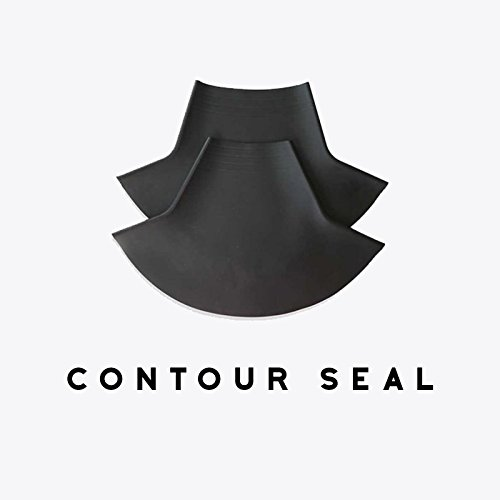 Gear Up Guide Contoured Latex Neck Seal, Conical Shape, Large (Trimmable) / 15.0-17' Neck