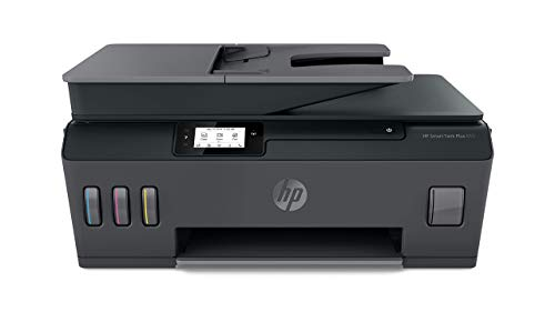 HP Smart Tank Plus 655 Multifunktionsdrucker (Drucker, Scanner, Kopierer, Fax, WLAN, AirPrint, 4-in-1, inklusive Tinte für bis zu 3 Jahre drucken)