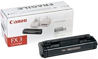 Canon FX3 Compatible Toner Cartridge for use with Canon FAXPHONE L75, FAXPHONE L80, CFX-L3500IF, CFX-L4000, CFX-L400IF, Laser Class 1060P, Laser Class 2050, Laser Class 2060, Laser Class 2060P, Laser Class 2050P Printers - Black