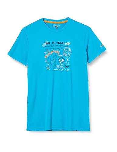CMP Breathable Outdoor T-Shirt with Antibacterial Treatment Camiseta Chico