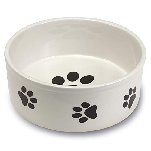 Comedero cerámica Huellas 19 cm