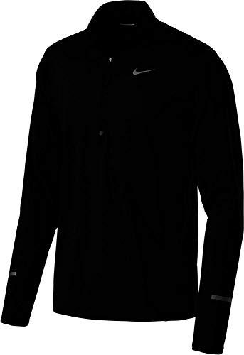 Nike Herren Langarmshirt Dry Element, black/reflective silver, S, 683485-010
