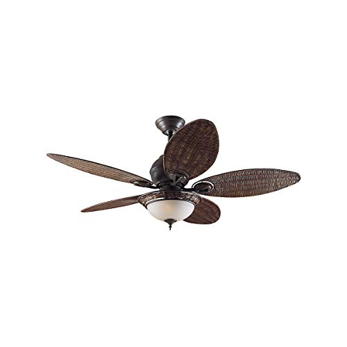 Ventilatore a soffitto, Caribbean Breeze VB Ala Rattan scuro