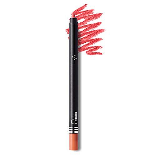 TOWAKM Lippenstift,26 Farben Wasserdichtes Professionelles Lipliner Makeup Wasserdichter...