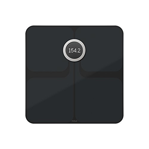 Fitbit Aria 2 Intelligente Wlan-waage, Black, One Size