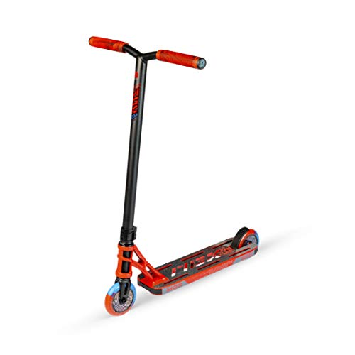MADD MGP Gear MGX Freestyle Stunt Scooter Shredder Patinete Kick Scooter Stunt Scooter (rojo)
