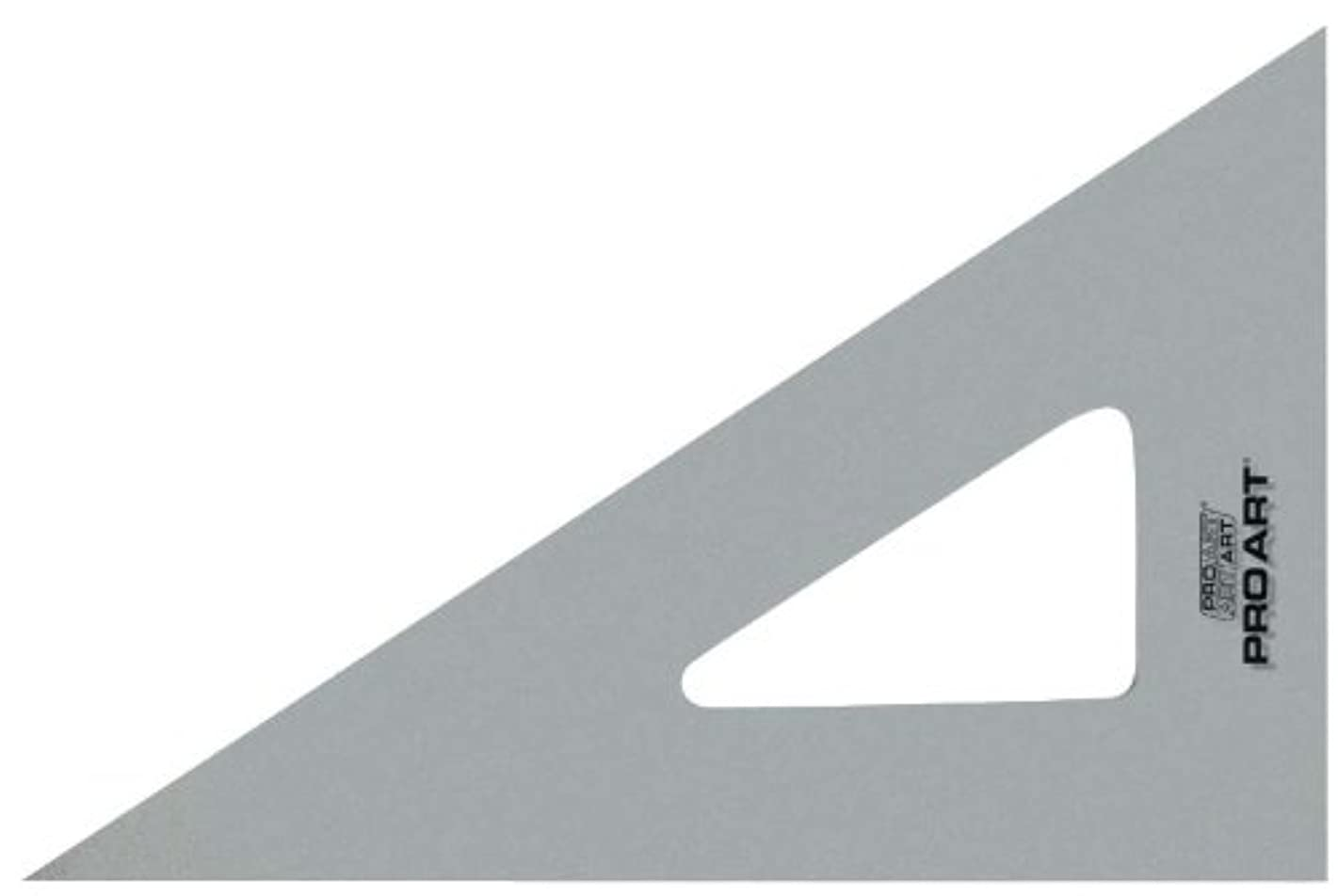PRO ART 12-Inch 30/60-Degree Triangle, Clear