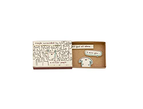 immi Mini Überraschung Streichholzschachtel Geschenk (Anlass/Vermisse Dich)