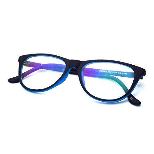 Peter Jones Cat-eye Anti Glare Reading Glasses for Men Women, Computer Readers UV 400 Customise Prescription (AG030)