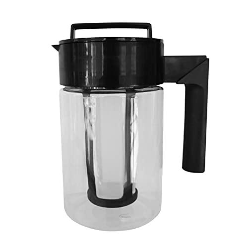 SQL 900ml Cerveza en frío Helado Cafetera con Hilado de Aire Sellado de Aire con Mango de Silicona sin Deslizamiento Handle Handle Handle Fabricante de café