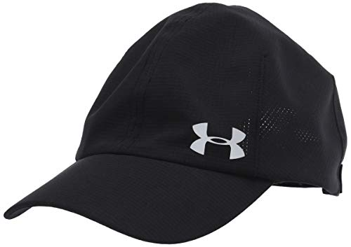 Under Armour Launch Run Gorra, Mujer, Negro, OSFA