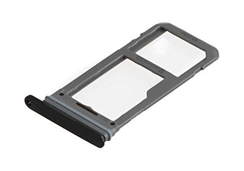 ICONIGON Ersatz für Galaxy S8+ Plus (SM-G955F) SIM/SD-Kartenhalter (Schwarz)