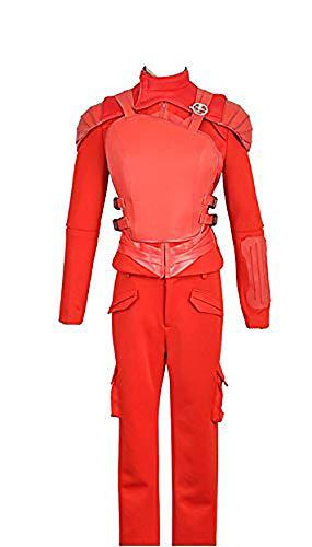 2015Film The Hunger Games: Teil 2Katniss Everdeen Version rot Cosplay Kostüm für Halloween Party