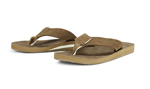 Jack & Jones JFWRamsey - Chanclas para hombre, color marrón, EU 41