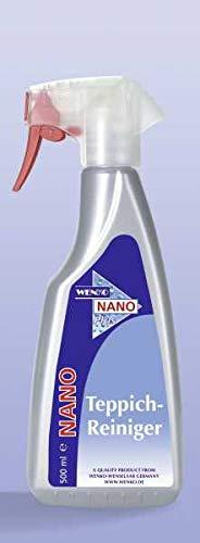 WENKO 76090500 Nano Teppich-Reiniger - zur professionellen Teppichreinigung, Chemie, 10.5 x 25.3 x 4.8 cm