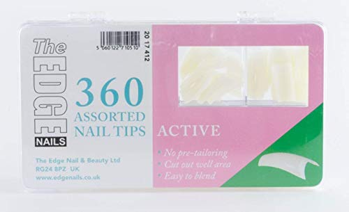 The Edge Active Nail Tip - Pack of 360