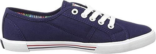 Pepe Jeans London, Zapatillas Mujer, Azul (Marine), 36 EU