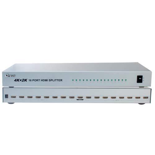 HDMI-signaalversterker, 1 HDMI-ingang, 16 HDMI-uitgangen, tot 4 K*2.