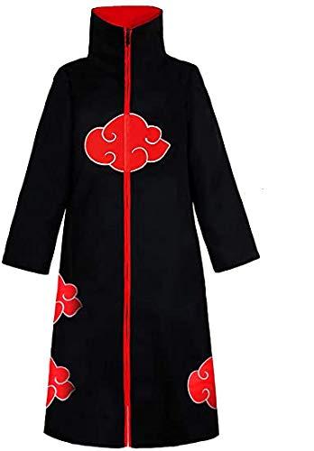 Anime Akatsuki Ninja Cosplay Costume Unique Gift Idea Halloween Uniform Cloak Unisex (Small, Cloak)