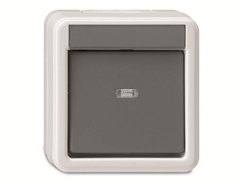 Gira Wippschalter 010630 Wechsel WG AP grau, 250 V
