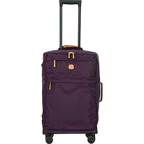 Bric's X-Bag/x-Travel 2.0 Ultralight 25 Inch Medium Spinner W/Frame, Violet, One Size