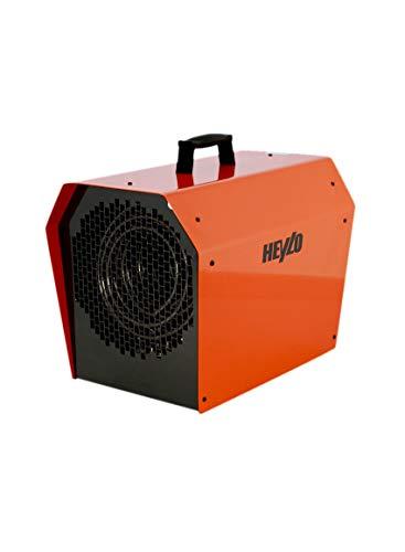 HEYLO Elektroheizer DE 9 XL 9kw Heizgerät Kompaktheizer Elektroheizgerät 9000W